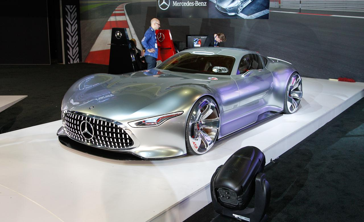 Mercedes-Benz AMG Vision GT Concept Gran Turismo ...