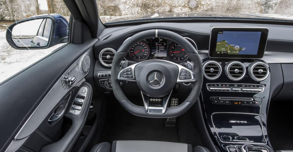 2015 MERCEDES-AMG C63 AND C63 S – REVIEW, INTERIOR ...  2015 MERCEDES-A...