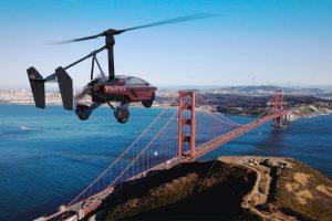 World's First Production Ready Flying Car PAL-V Liberty makes Avaitaion Debut at Farnborough International Airshow, England