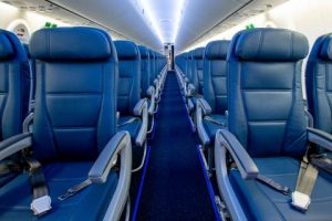 Delta Airlines First American Airlines unveils new Flying Beauty Airbus A220 Aircraft
