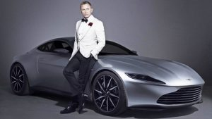 007 to Drive Next Generation Electric Aston Martin In Upcoming 25th James Bond Movie